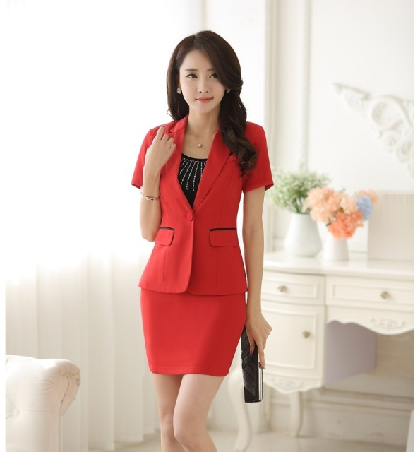 Aliexpress.com : Buy Summer Formal Female Skirt Suits for Women ...