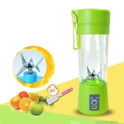 400 мл портативный сок блендер USB соковыжималка чашка мульти-функция фруктовый миксер шесть лезвий миксер машина смузи детское питание