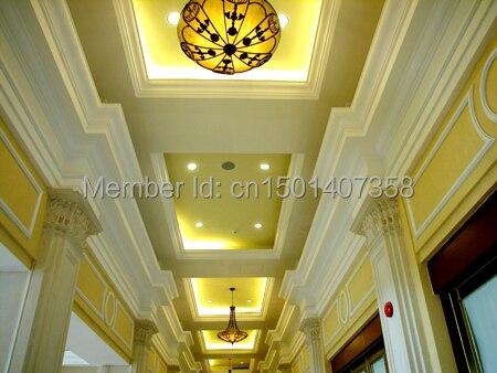 artistic fiberglass reinforced interior decoration gypsum cornice