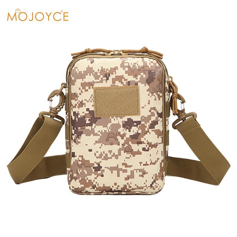 MOJOYCE Unisex Tactics Waterproof Bag Messenger Pack Outside School Small Handbags Milit ...