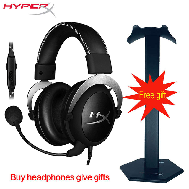 HyperX Cloud series game headset Stinger Alpha Cloud Revolver Cloud II headphone Suitable for enthusiasts and professional playe