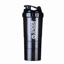 Горячая 3 комбинация сыворотка бутылка белкового порошка для воды шейкер бутылка для протеина mezclador proteina спортивный вибратор бутылка для воды