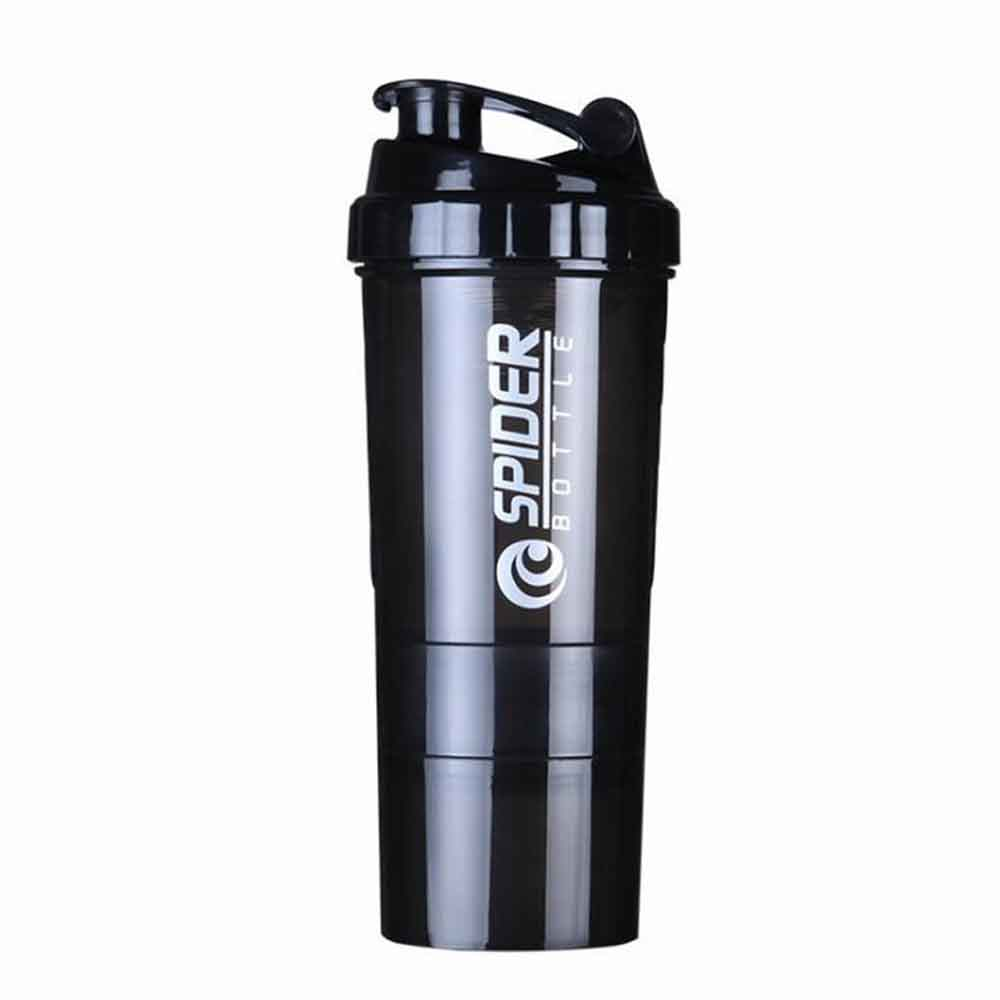 Hot 3 combination whey protein powder bottle for water shaker bottle for protein mezclador proteina Sports Vibrator Water Bottle