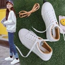 النساء أحذية رياضية أحذية من الجلد 2020 الربيع الاتجاه أحذية رياضية غير رسمية الإناث موضة جديدة الراحة الدانتيل متابعة أحذية مفلكنة