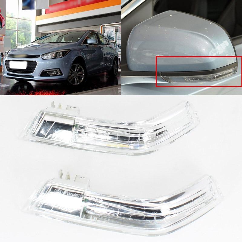 Brand New Turn Signal Light Side Mirror Assemble Indicator w/ Puffle Lamp For Chevrolet Cruze 2015-2016 Указатель поворота
