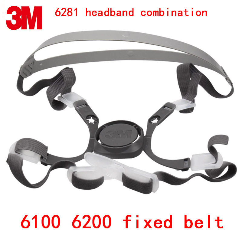 3M 6000 Series Respirator Mask Replace Accessories 3M 6281 Headset Combination 6100/6200 Dedicated Replace The Head