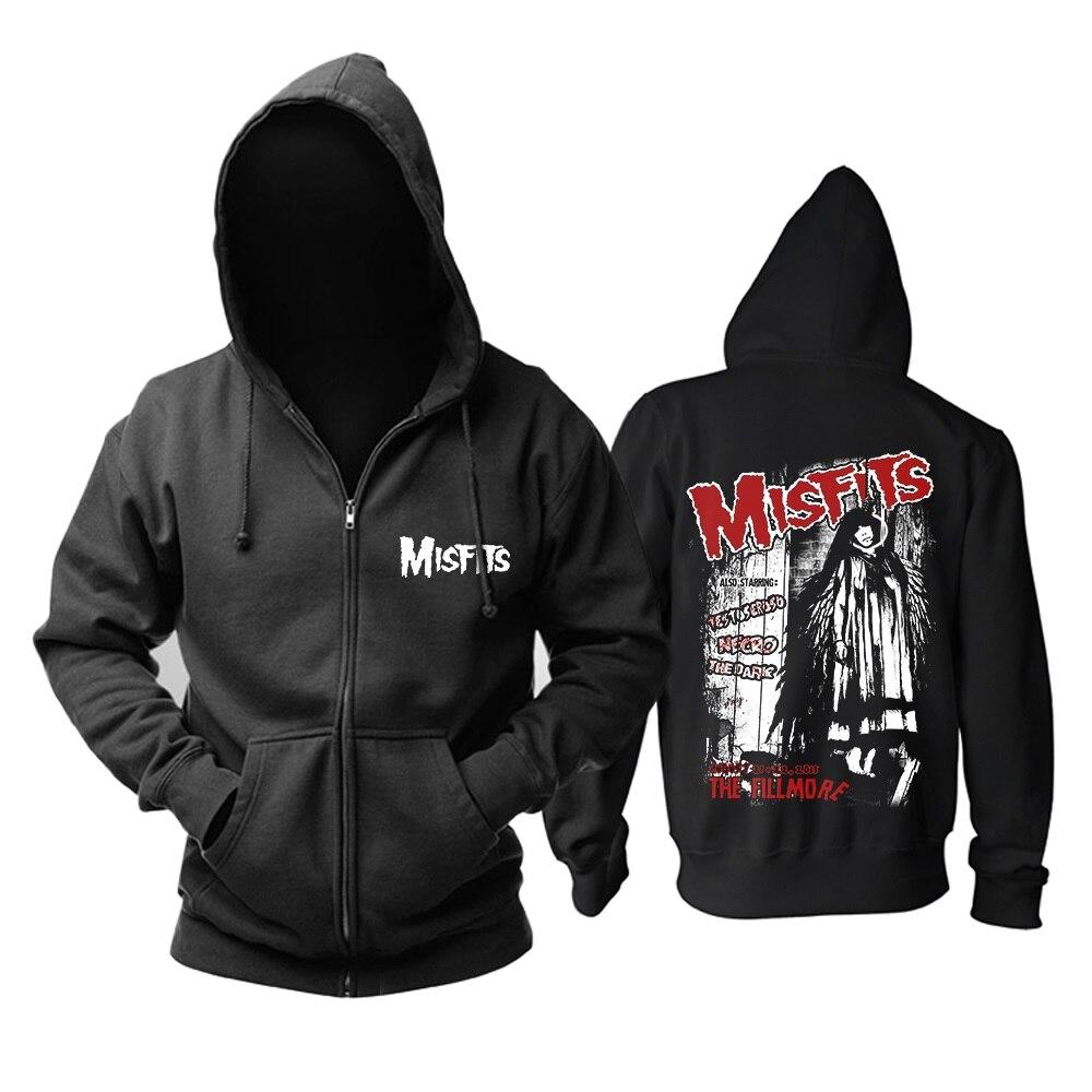 Hoodies 3 Misfits 2 Veste Os Rock 7 6 Vêtements Sweat Impression Métal 1 5 shirt Zipper 3d 9 Hiver 4 Conceptions Marque 8 Sweat Crâne 9 Lourd Punk PYtwq18RY
