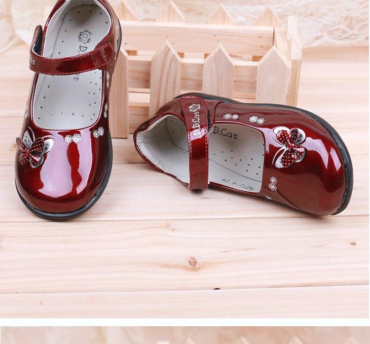 Nieuwe meisjes kinderen leren schoenen vlinder student school prinses - Kinderschoenen - Foto 5