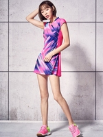Badminton Clothing Female Models Quick drying Breathable Badminton Tennis Dress with Safety Short