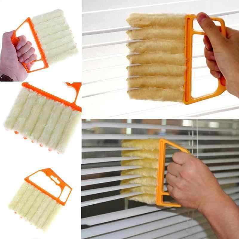 Ev aksesuarları temizleyici pencere temiz araçları fırça yaratıcı mikrofiber venedik kör bıçak teşhis aracı manyetik temizleyici