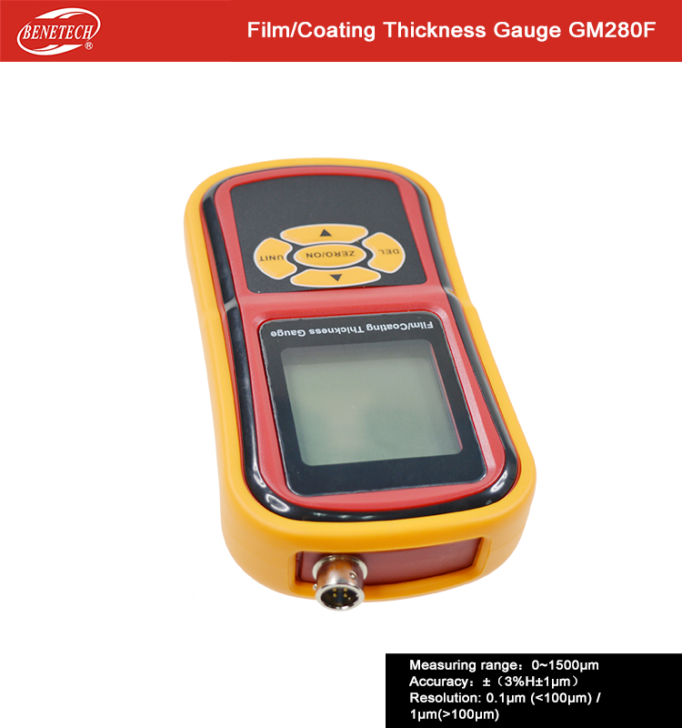 US $210 0 |Aliexpress com : Buy Coating Thickness Gauge GM280F with high  accuracy to testing the thickness on surface of object from Reliable  coating