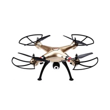 X8HW Wifi FPV Quadcopter SYMA 4 Channel 6 Axis Gyro Cerdas Set Tinggi RC Drone Quadcopter RTF dengan Real-time Camera US Plug/UNI EROPA Plug