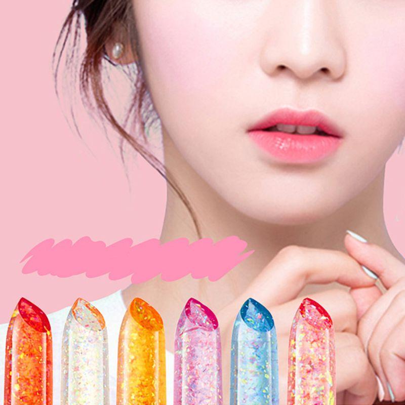 New Arrival Makeup Lipstick Moisturizer Transparent Magic Temperature Flower Color Changing Long Lasting Lip