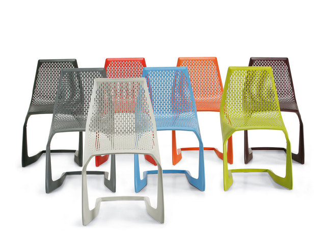 IKEA Mesh Plastic Chairs Creative Styling Chair Modern Minimalist European  Coffee Lounge Chair Computer Chair