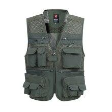 Summer Mesh Vest For Men Spring Autumn Male Casual Thin Brea