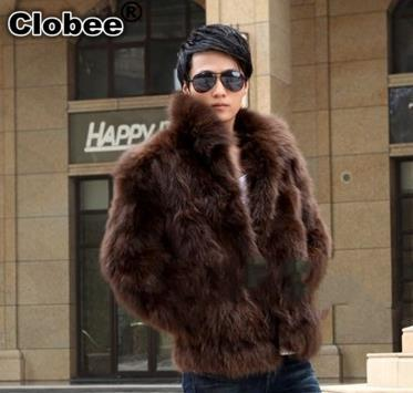 Online Get Cheap Fox Fur Coats Men -Aliexpress.com | Alibaba Group