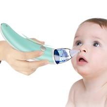 Новорожденный носовой аспиратор Электрический ребенок безопасный гигиенический нос очиститель носа для новорожденного малыша носовой аспиратор