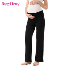 Maternity Pants European American Casual Autumn Winter Long Printed Trousers Clothing Pregnancy Belly Legging Pant