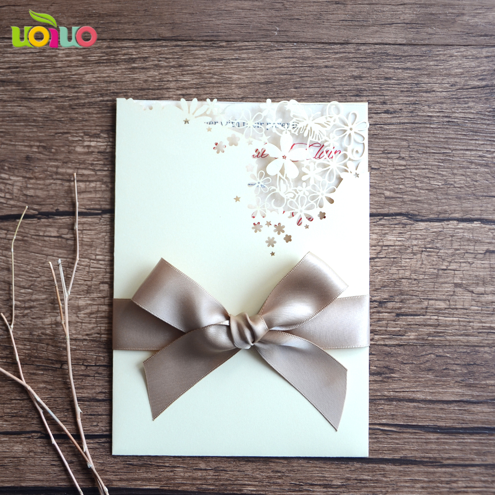 Cream Pearl Paper Lace Wedding Gift And
