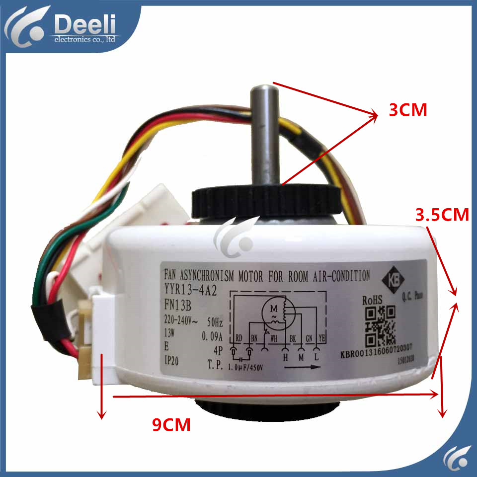 99% new good working for Air conditioner Fan motor machine motor FN13B YYR13-4B YYR13-4A2 good working casio shn 5010l 4a2