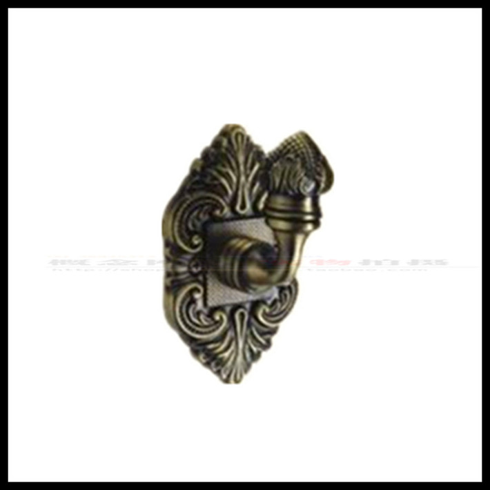Original TAIGOOD Thickened European Antique Copper Bathroom Towel Rack Toilet Hook Hanging LU704 ACU