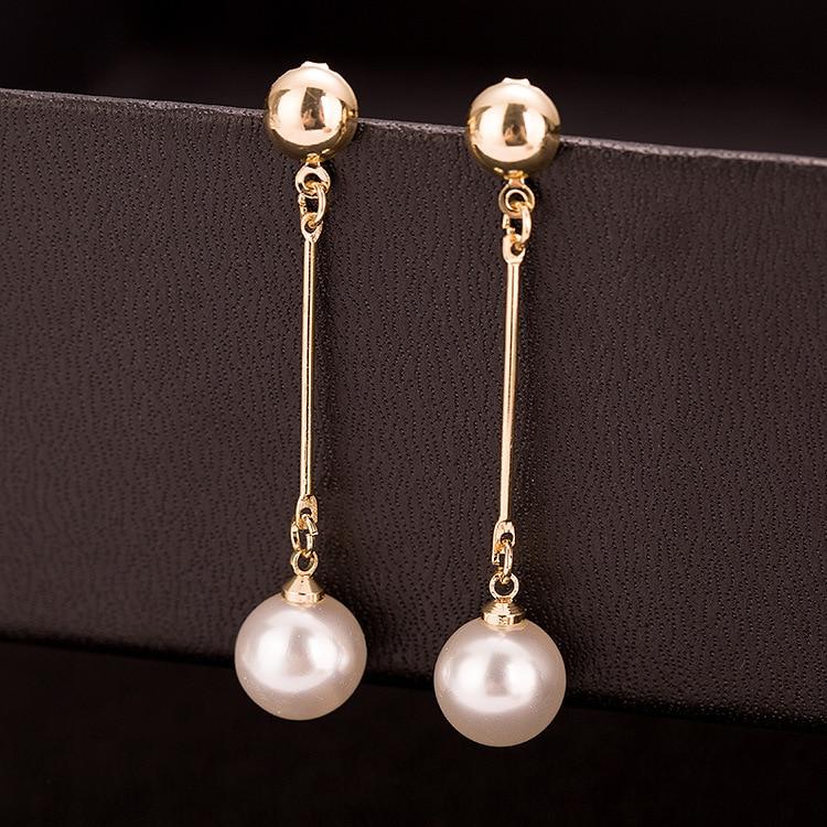 Korean jewelry OL gold color earrings Ers
