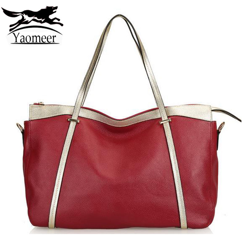 Luxury 100% Genuine Leather Bags Large Shoulder Tote Bag Female Designers Handbags Famous Brand Women Messenger Crossbody Bag luxury handbags large capacity shoulder bags purse female famous brand lady tote bag shopping office real leather messenger bags