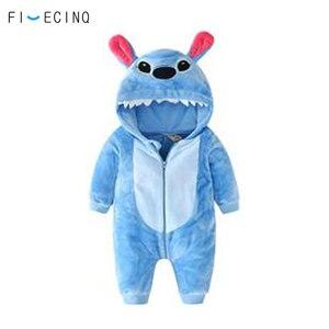 Image 4 - Baby Kigurumis Boy Girl Costume Warm Soft Flannel Pajama Onesie Cartoon Anime Cosplay Kid Birthday Gift Party Suit Fancy
