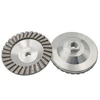 4 100mm Aluminum Based Diamond Disc Grinding Cup Wheel M14 Thread Stone