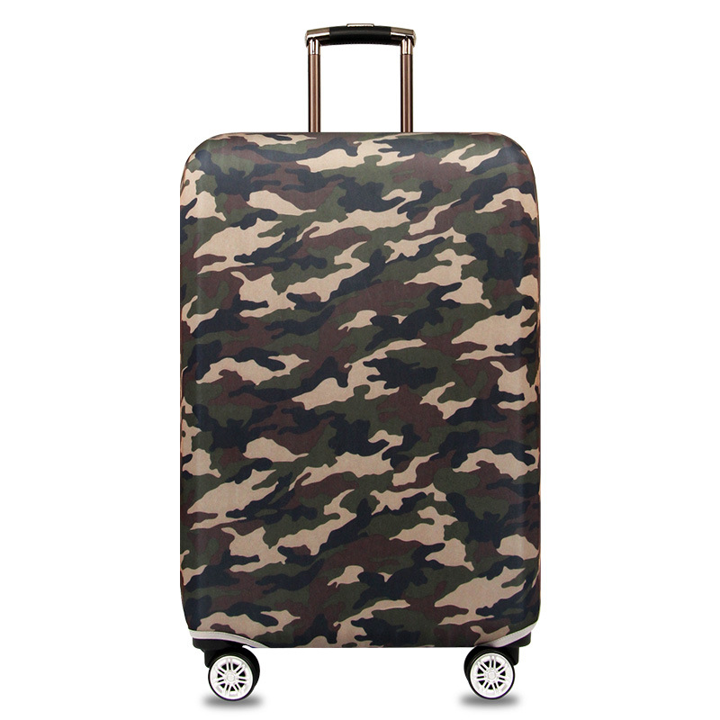 Camouflage Luggage Cover Suitable for 18 32 Inch Suitcase Protector Trolley Case Elastic Dust Cover Travel Accessorie in Travel Accessories from Luggage Bags