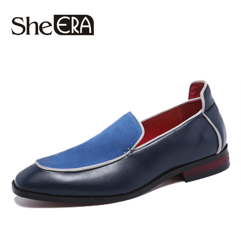 2019 New Men Casual shoes Handmade Genuine Leather Loafers Embroidery Gentleman Luxury Dress Shoes for Men Brand Slip On Flats2019 New Men Casual shoes Handmade Genuine Leather Loafers Embroidery Gentleman Luxury Dress Shoes for Men Brand Slip On Flats