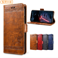 SRHE Flip Cover For Lenovo K350T Case 5.7 inch Leather Silicone With Wallet Magnet Vintage K5