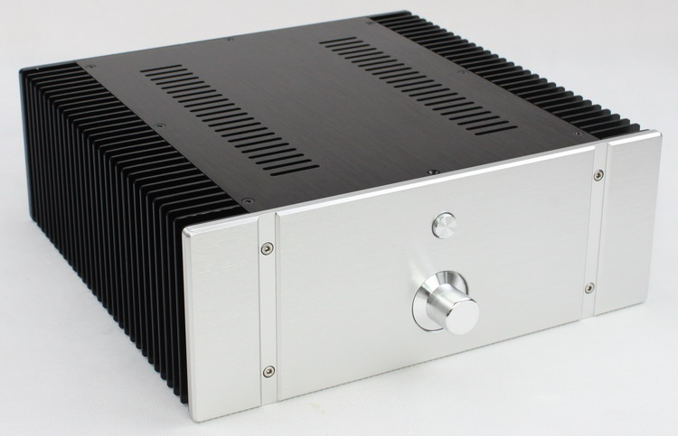 YJHIFI WA 76 aluminum amplifier enclosure class a amplifier enclosure DAC chassis power amplifier chassis 3206 amplifier aluminum rounded chassis preamplifier dac amp case decoder tube amp enclosure box 320 76 250mm