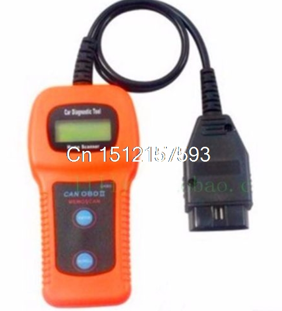 New Diagnostic Tool U480 OBD2 CAN Engine Code Auto Reader Scanner u480 1 5 lcd universal can bus obd2 car diagnostic code reader memo scanner