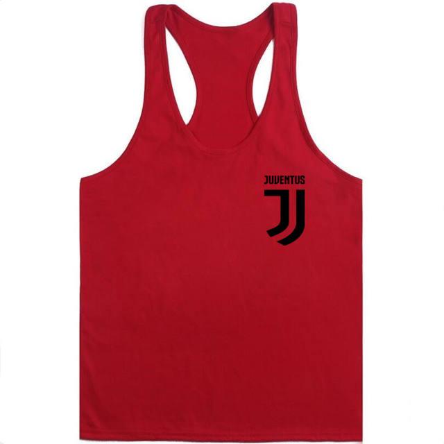 2018 Brand New Men's Tank top Juventus For Men Desiger Tank vest Men Cotton Short Sleeve shirt clothes jerseys golftennis