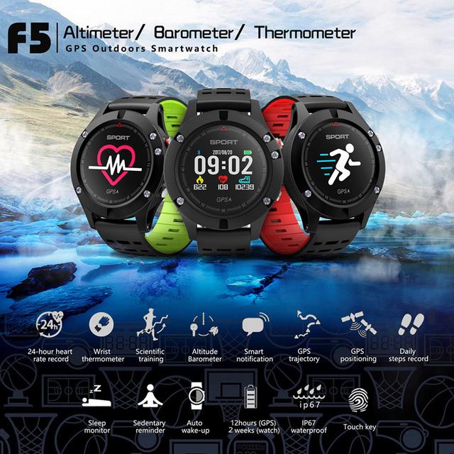 Reloj inteligente GPS hombres altímetro termómetro barómetro Bluetooth impermeable Fitness Smartwatch para Android Ios xiaomi iphone