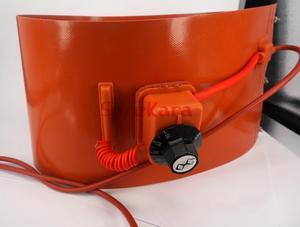 Image 3 - 200 L(55 Gallon) 125x1740x1.8mm 1000W/1500W Flexible Silicon Band Drum Heater Blanket Oil Biodiesel Plastic Metal Barrel