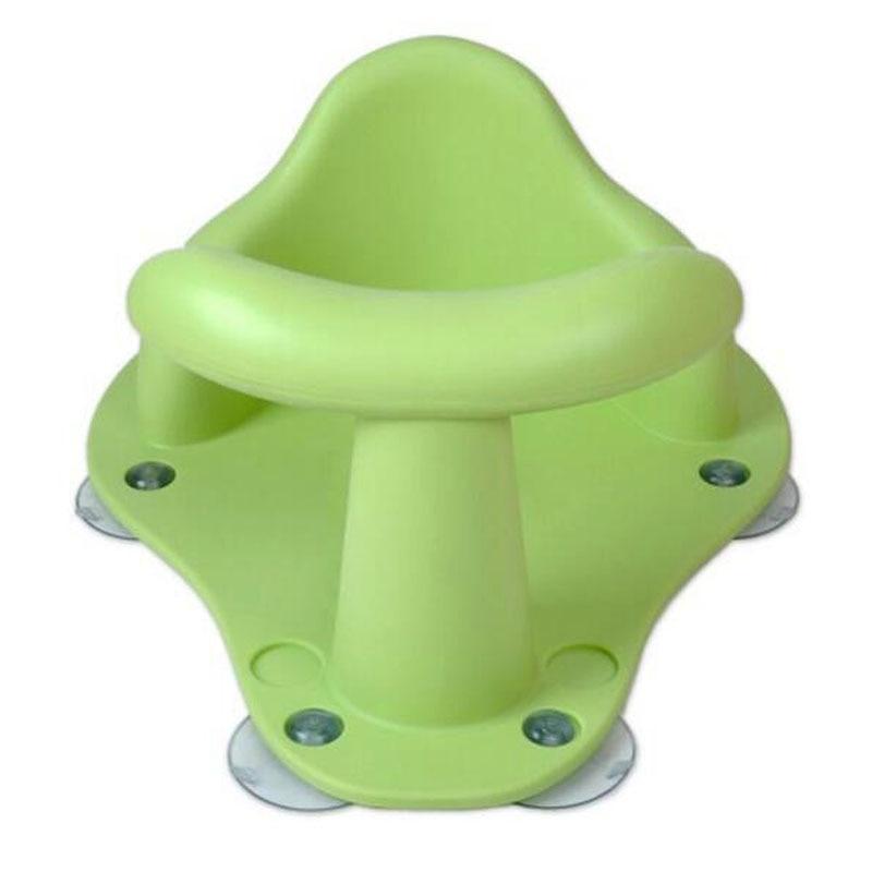 Детские Для Ванной сиденье кольцо ванны Детские ребенок Дети Нескользящие Детская безопасность стул 4 Цвета