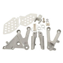 Motorcycle Front Rider Foot Pegs Footrest Brackets For HONDA CBR 600RR 2003-2006 2004 2005