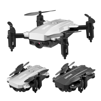 Intelligent Foldable Drone FPV 480P Camera Headless Mode Speed Adjustable One Key Return for Kids Gift