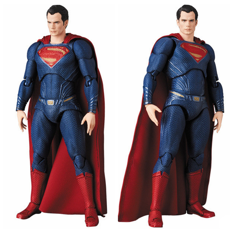 Justice League Mafex Batman Maf 056 Flash 058 Wonder Woman 048 Superman 057 Spiderman 047 Action Figure Toy Doll (38)