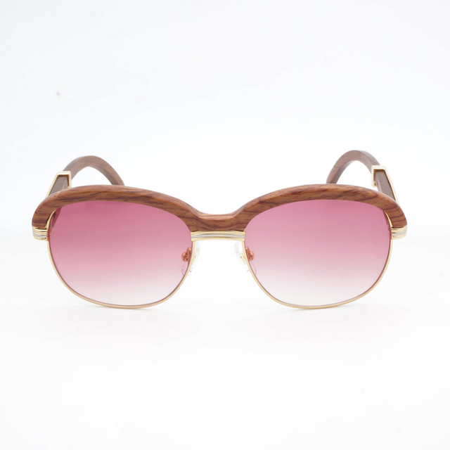 Wooden Sunglasses  Retro Shades Eyewear 3