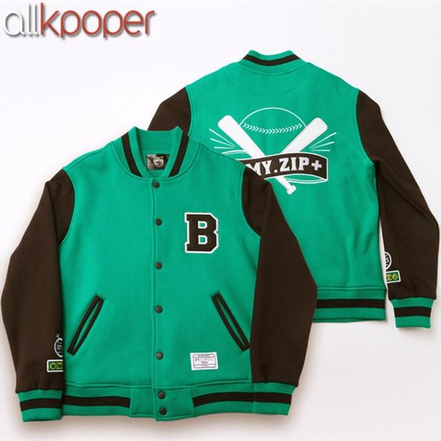 ALLKPOPER Kpop BTS Baseball Jacket Casual Coat Jackets FM ARMY ...