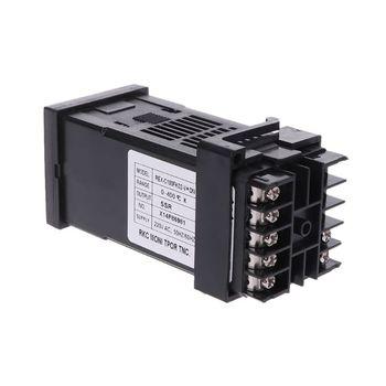 PID Digital Temperature Controller REX-C100(M) 0 To 400 K Type Relay Output 2019 pid digital temperature controller rex c100 0 to 400degree k type input ssr output