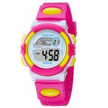Nuevo Pequeño Reloj Del Deporte Estudiantes Niños Niños Relojes Niños Niñas reloj Electrónico Niño LED Digital Reloj de Pulsera para la Muchacha Del Muchacho regalo