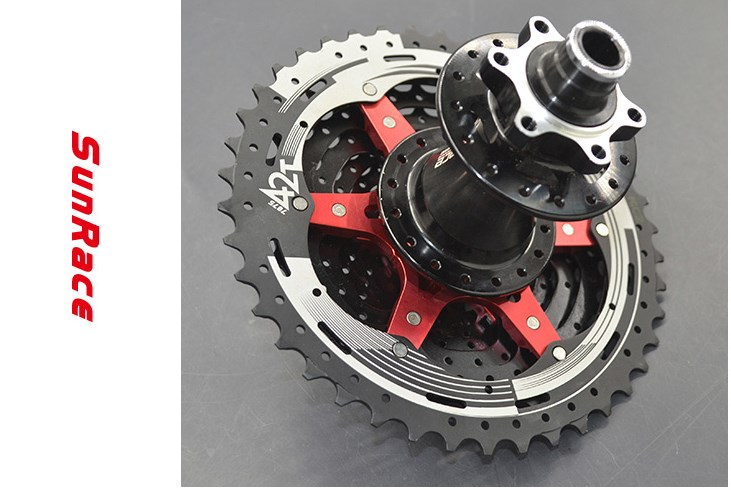 SunRace 10 Speed CSMX3 11 40 t 11 42 t 11 46 t Bicycle Freewheel Wide