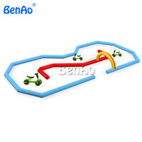 AA159 Inflatable race track, Inflatable go kart track, inflatable sport games for bike,kids toy outdoor cars race track for sale