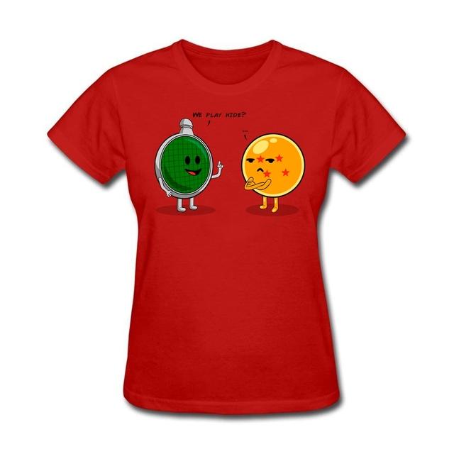 Dragon Ball Casual Short-sleeve Women's T-Shirt