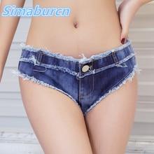 ФОТО sexy vintage mini women low sky blue jeans short skinny denim girl shorts hot vestidos club party summer ladies shorts for femme