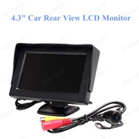 Hot Sell Car Reversing 4 3 Inch LCD HD Screen Monitor Camera Alarm Security System Supply